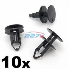 10 x 8mm Ajuste a Presión Plástico -clips RENAULT KADJAR REJILLA & Paso de rueda