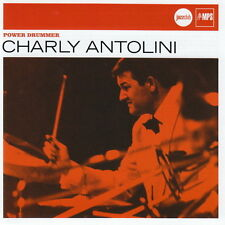 CD Album Charly Antolini Power Drummer (Drum-Organ, La Belle) 2007 MPS
