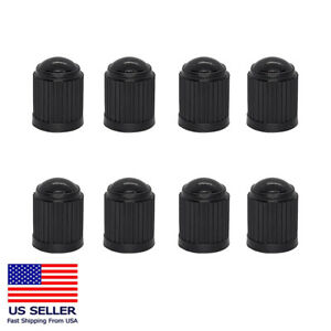 8PC Tire Valve Stem Caps Tight Seal for Car SUV Bike Bicycle Motorcycle Truck