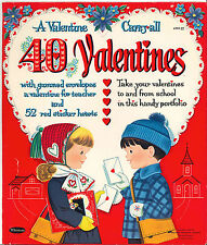 Vintg Uncut 1961 40 Valentines Play Paper Doll ~Whitman~Org Sz~Lasr Reproduction