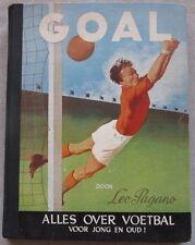 Sammelalbum Fußball Goal-ALLES OVER FOETBAL-Komplett mit 233 Bildern-40er Jahre