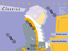 Faber Piano Adventures PreTime Classics Primer Level Book 420126
