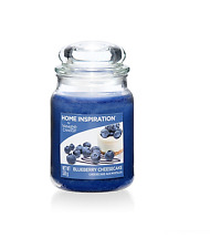 Yankee Large Jar Blueberry Cheesecake 538g Large Jar - Up To 135 Hour Burn Time
