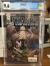 🔥 Thanos #13 Cosmic Ghost Rider 1st App CGC 9.6 - 1st Print! Hot Key Book!