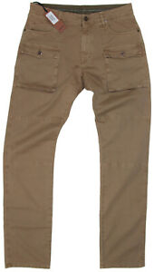 New Zanella Mens Pants in Light Brown Colour Size 34 Made in Italy RRP$450.00