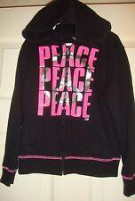 Justice~girl~Pink/Glitter y/Silver/Lame/Black/Zipper ed/Sweatshirt! (6) Brand/New!