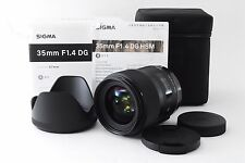 MINT SIGMA Art 35mm F1.4 DG HSM AF Lens for Sony Ref No 137007