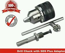 """13mm Drill Chuck Size 1-13mm Drill Chuck SDS Adaptor Key Set Female 1/2"""" 20 UNF"""