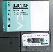 HARDLINE Hot Cherie Neal Schon JOURNEY JAPAN PROMO-ONLY ADVANCED CASSETTE