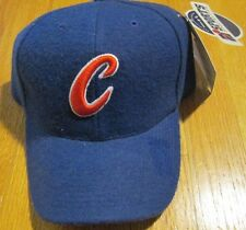 Chicago Cubs  Fitted Cap Size 7 1/4  Light Navy 30% Wool MLB Genuine Merchandise
