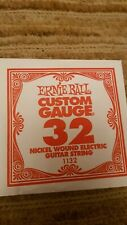 Ernie Ball Custom Gauge 32 Nickel Wound Electric Guitar String