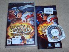 Untold Legends: el guerrero es código-Raro Sony PSP juego