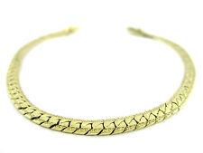 Goldkette Double Armband Vergoldet 24 kt Feingoldauflage