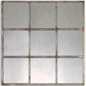 """Uttermost Derowen 18"""" X 18"""" Square Wall Mirror G8476"""