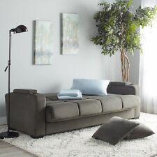 Multi Purpose Sleeper Sofa Home Living Room Indoor Furniture Convertible Grey