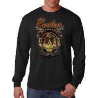 Custom Motorcycle Indian Chief Skull Fastest Tradition Long Sleeve T-Shirt Tee