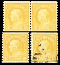 497, Mint NH Pair & Mint LH Single Plus Used Stamp Cat $120.00 - Stuart Katz