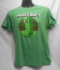 Minecraft Green T Shirt Medium