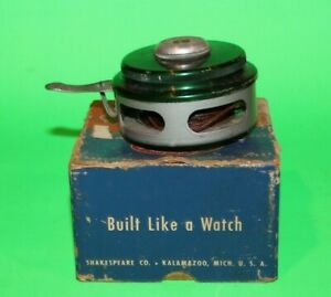 Vintage Shakespeare OK Automatic No.1821 Fly Reel W/Box