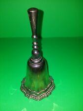Vintage Avon Silverplate Desk Dinner Bell