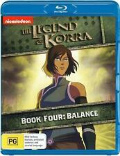 The Legend Of Korra : Book Four - Balance   (BLU RAY) Region B  -sealed