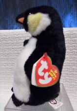 RARE RETIRED TY BEANIE BABY, ADMIRAL THE PENGUIN, 2005,ERRORS ON TAGS