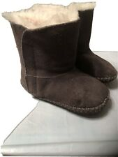 UGG TODDLER GIRLS I CADEN BOOTS Gray SIZE 4/5