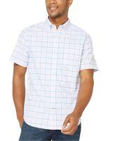 Nautica Mens Casual Shirt Light Purple Size 2XL Plaid Button Down $49- 309