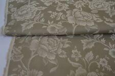 beige green floral jacquard upholstery fabric caravan sofa chair curtain