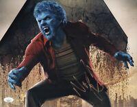 NICHOLAS HOULT Signed X-Men BEAST 11x14 Photo In Person Autograph JSA COA