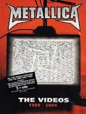 METALLICA (THE VIDEOS 1989 - 2004 DVD SEALED + FREE POST)