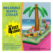4ft Inflatable Hawaiian Palm Tree Beer Drinks Cooler Beach Party Decoration