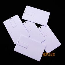 2GB 100PCS Credit Card USB Flash Drive Memory Thumb Stick + Custom Print Logo