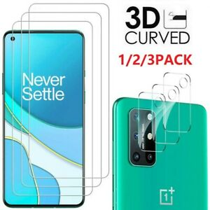 For OnePlus Nord N200 5G HD-Clear 9H Tempered Glass Screen Protector Lens Film