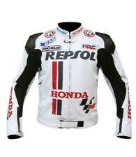 HONDA MOTORBIKE LEATHER JACKET / MOTORCYCLE LEATHER JACKET