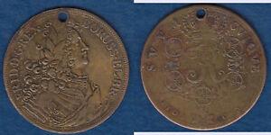 READ DESCRIPTION Medaille Lauer Nürnberg Motiv Reichstaler 1707 CS Berlin