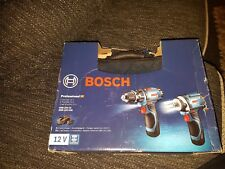 BOSCH 12 V Professional Twin Pack Cordless Drill & Driver con due batterys