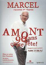 """DVD Marcel Amont """"Marcel raconte et chante Amont"""" 90 ans à l'Alhambra"""