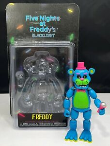 Five Nights At Freddys FNAF Funko Blacklight Freddy 2018 Action Figure Rare