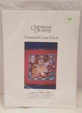 Candamar Designs Inc. Cookie Bear Needlepoint Counted Cross stitch Kit