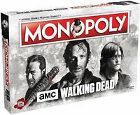 Winning Moves- Monopoly The Walking Dead AMC-Version Française,