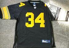 Pittsburgh Steelers #34 Rashard Mendenhall Jersey  XL (50) Reebok Black NFL