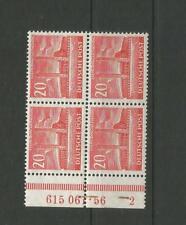 RAR Berlin 113 Bauten 1953 VB HAN ungefaltet sauber ** M€ +480 - 47-109