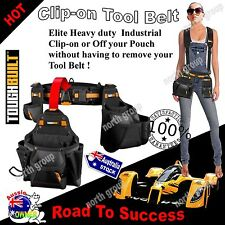 Trades TOOL BELT utility pouch nail bag home renovations builder carpenter GIFT