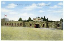 New listing Linen Postcard - Rapid City, Sd Black Hills Reptile Garden - 1940s
