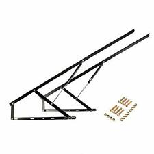 Bed Lift Mechanism Black Gas Spring Set Heavy Duty for Storage Box Space Saving