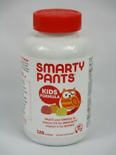 Smarty Pants Kids Childrens Multivitamin and Omega 3s 120 Gummies Exp 12/2021