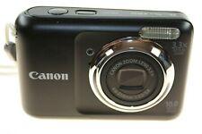 CANON POWERSHOT A800 BLACK DIGITAL CAMERA 10.0 MEGA PIXELS USED WORKING