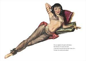 Esquire 1953 Pin Up Girl Calendar | A1, A2, A3 | Poster #8