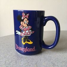 Disneyland Souvenir Minnie Mouse 16 oz Purple Ceramic Coffee Mug